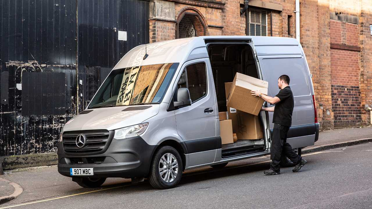 Mercedes Benz Sprinter Delivery Van
