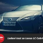 Lexus LC kabriolet proveo 12 sati na -18 stepeni celzijusa