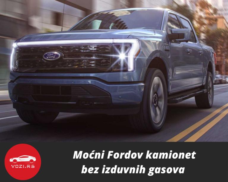 Moćni Fordov kamionet bez izduvnih gasova