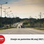 Stanje na putevima 06.maj 2021.
