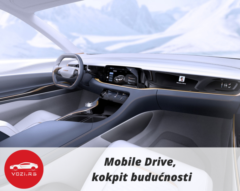 Mobile Drive, kokpit budućnosti