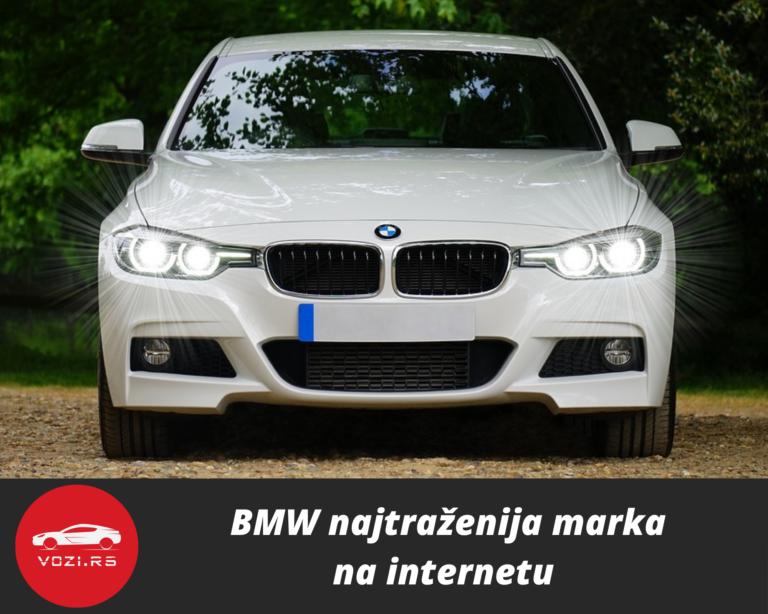 BMW najtraženija marka na internetu