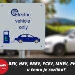 Bev Hev Erev Fcev Mhev Phev Elektricni Automobili