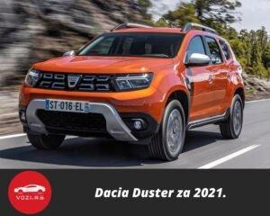 novi Dacia Duster 2021