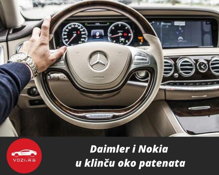 Daimler Nokia patent licenca