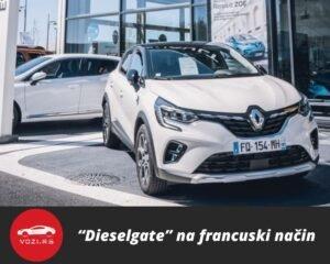 Dieselgate Francuska Renault