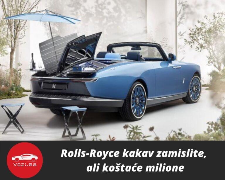 Rolls Royce Kakav Zamislite Ali Koa Taa E Milione