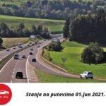 Stanje Na Putevima 01 Jun 2021