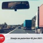 Stanje Na Putevima 02 Jun 2021