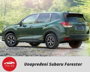 Subaru Forester 2022 Restyling
