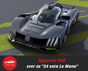 99x8 Peugeot 24 Hours of Le Mans