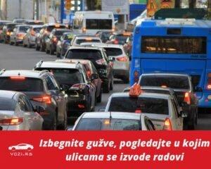 Radovi Na Beogradskim Ulicama Izmene Saobraa Aja Zatvaranje
